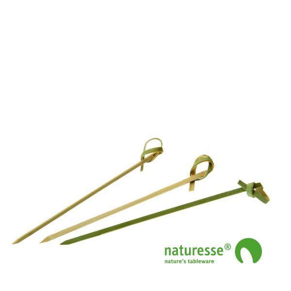 Pindemadspinde, Bambus (9cm) - 250 stk pk