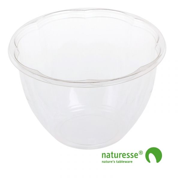 PLA Salatskål (Ø17cm/1400ml) - 50 stk pk