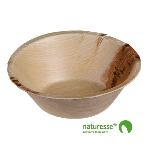 Palmeblad skål (Ø15.5cm/400ml) - 25 stk pk*