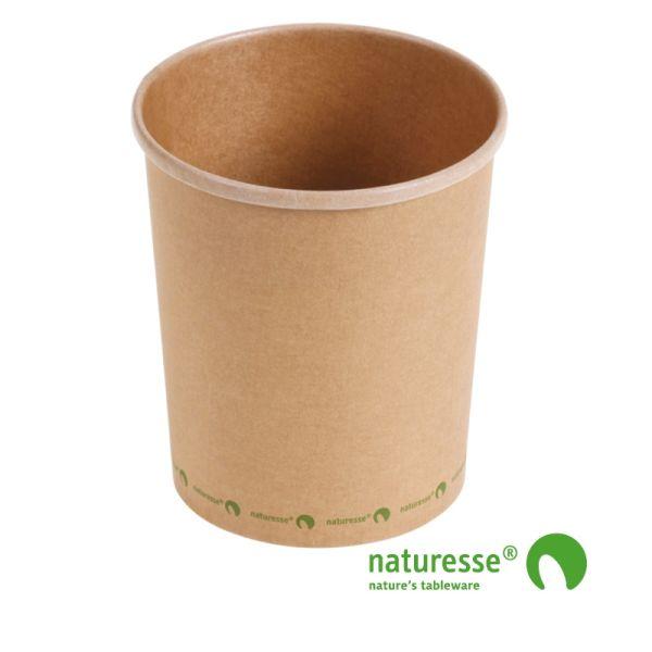 Suppebæger, Karton/CPLA (950ml/Ø11,8xH13,3cm) - 25 stk pk *