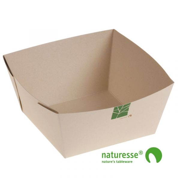 PaperWise Bakke (17x17x8,5cm/1500ml) - 250 stk krt *