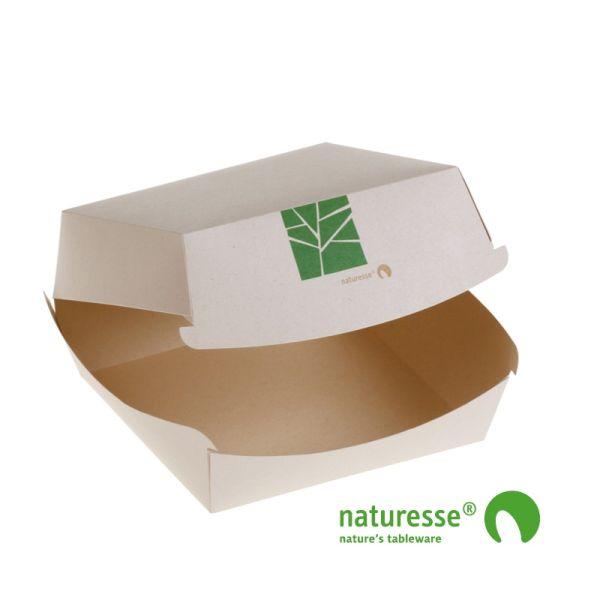 PaperWise Burgerboks (15x10x7cm) - 50 stk pk