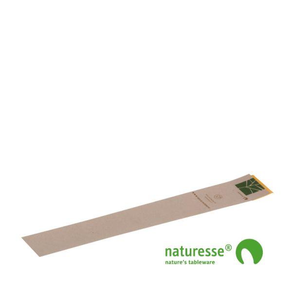 Banderoler m/Tape, PaperWise (55x3,3cm) - 100 stk pk