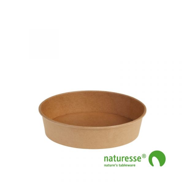 Salatbæger, Karton/PLA (Ø15x4,5cm/480ml) - 60 stk pk