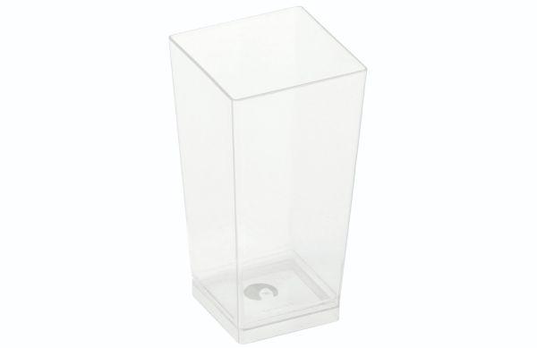 "PLA ""KOVA"" Dessertglas (100ml/4x4x8,2cm) - 25 stk pk"