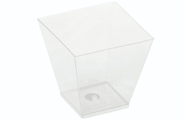 "PLA ""KOVA"" Dessertglas (220ml/7,2x7,2x7,2cm) - 50 stk pk*"
