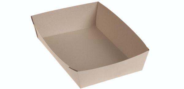 Bambuskarton Take Away Boks (21,5x13,5x4cm) - 50 stk pk