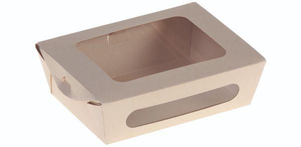 Bambuskarton Rudeboks, M/Låg (16x12x5cm) - 50 stk pk