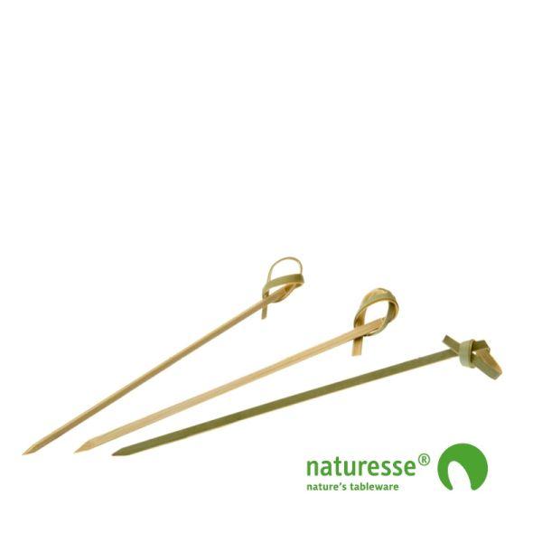 Pindemadspinde, Bambus (10,5cm) - 250 stk pk