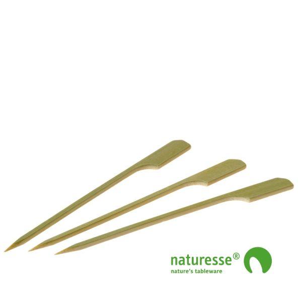 Pindemadspinde, Bambus (12cm) - 250 stk pk