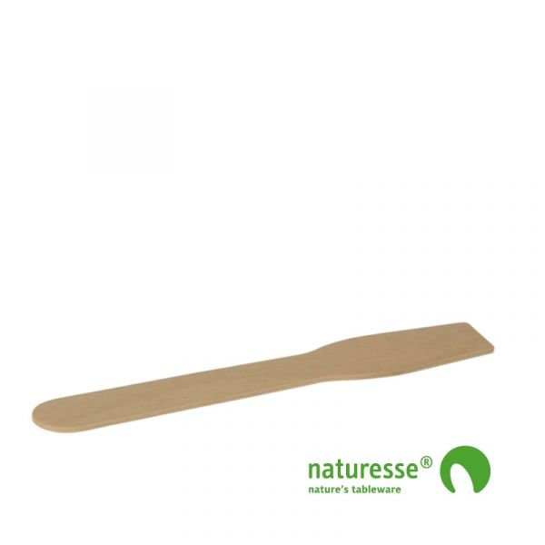 Isspade, Træ (9,6cm) - 100 stk pk *