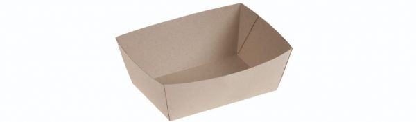 Bambuskarton Take Away Boks (19,5x8,9x4,5cm) - 50 stk pk
