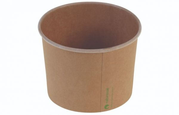Isbæger i Karton/PLA (Ø10,5cm/480ml) - 50 stk pk*